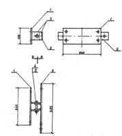 Кронштейн РА-2 (3.407.1-143.8.65) 2 кг