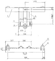 Траверса ТМ-109 (26.0004-20) 23,4 кг